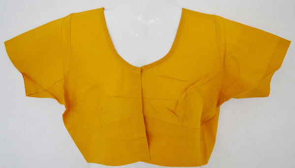 Mango Colour Saree Blouse Size 38