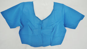 Blue Colour Saree Blouse/ Top  Size 40