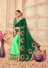 Lovely Green Colour Silk Saree