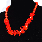 Fashion Beautiful Red Necklace
