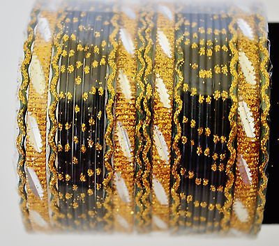 Set Of 24 Indian Bollywood Jewelry Bangles
