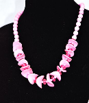 Fashion Beautiful Pink Necklace