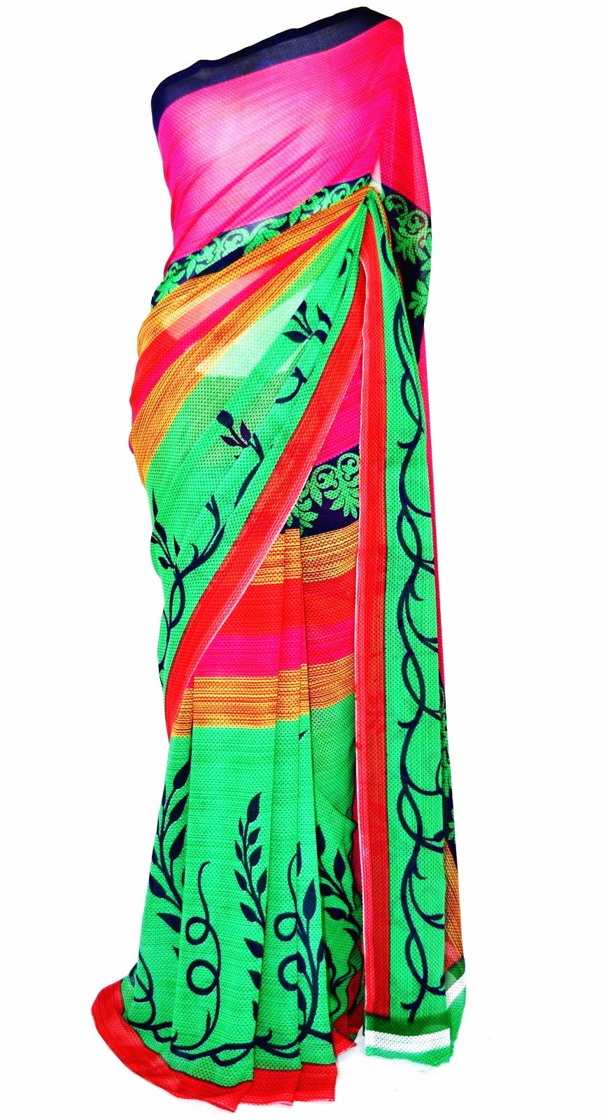 Exclusive Fancy Saree With Blouse Piece