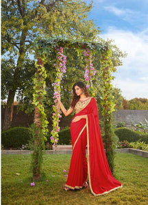 Kalista Saree with Pre-stitched Blouse