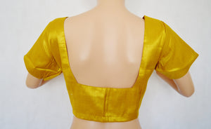 Gold Brocade Blouse Size 40