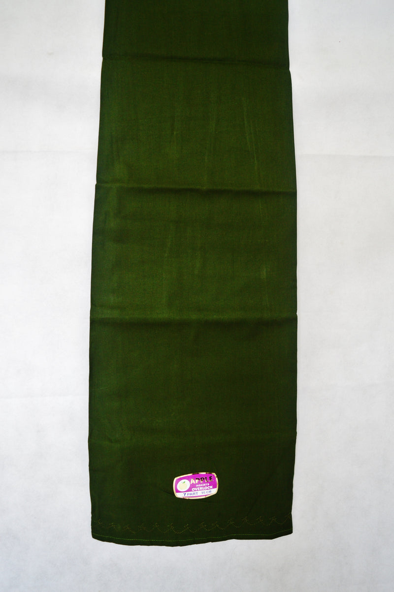 Forest Green Cotton Petticoat / Skirt