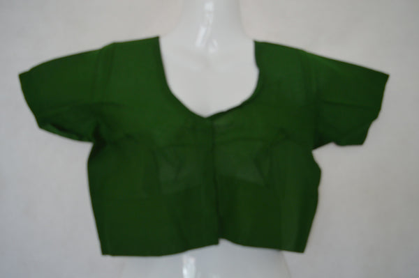Forestgreen Saree Blouse / Top  Size 38