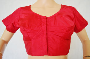 Raspberry colour Saree Blouse Size 36