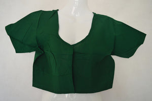 Green Saree Blouse/ Top  Size 40