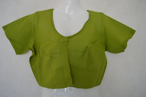 Olive green Saree Blouse/ Top  Size 40