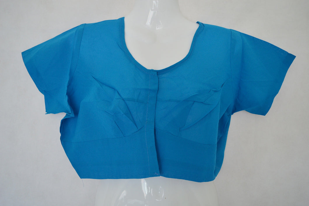 Blue Colour Saree Blouse  Size 42
