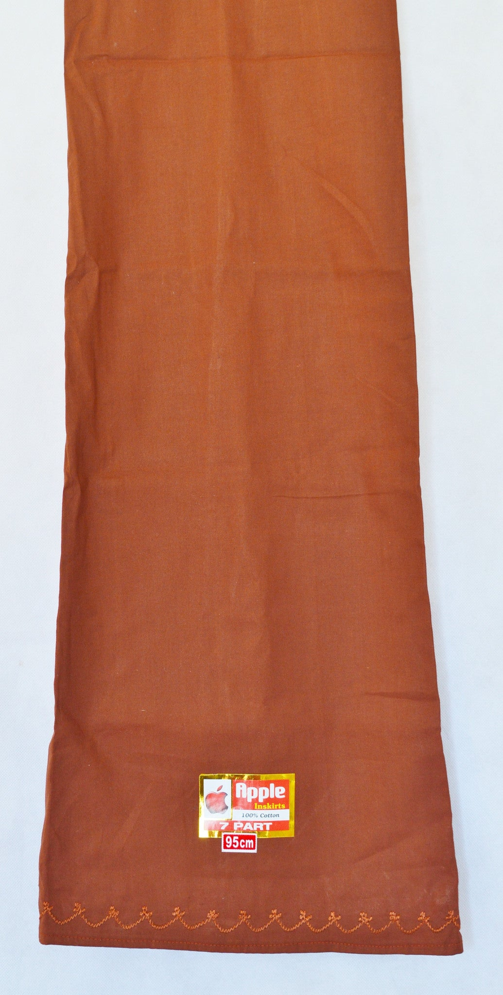 Copper Brown Colour Cotton Petticoat / Skirt