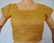 Ready made Stitched Gold Blouse / Choli Top 42
