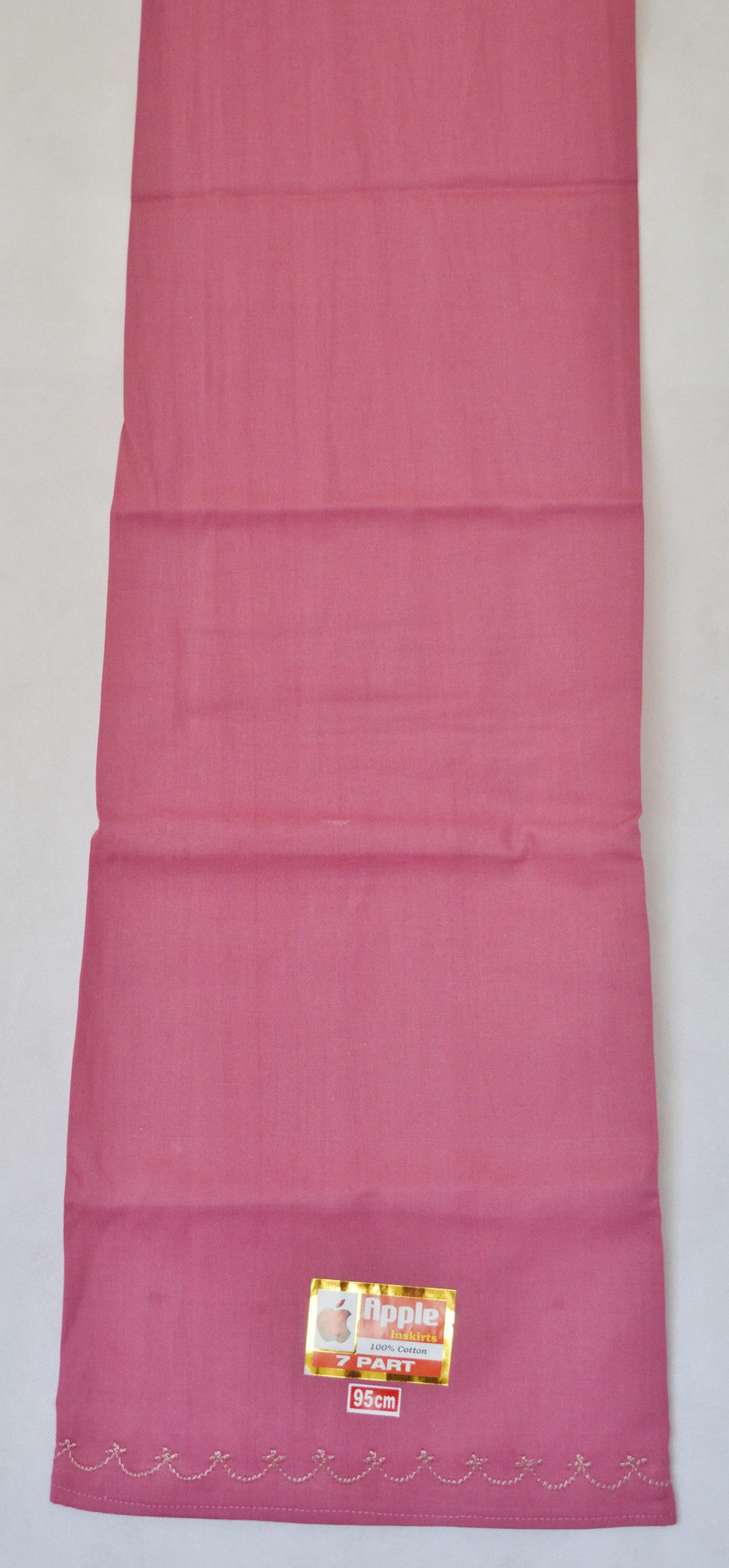 Cerise Colour Cotton Petticoat / Skirt
