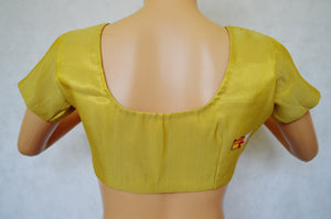 Gold Brocade Blouse Size 32