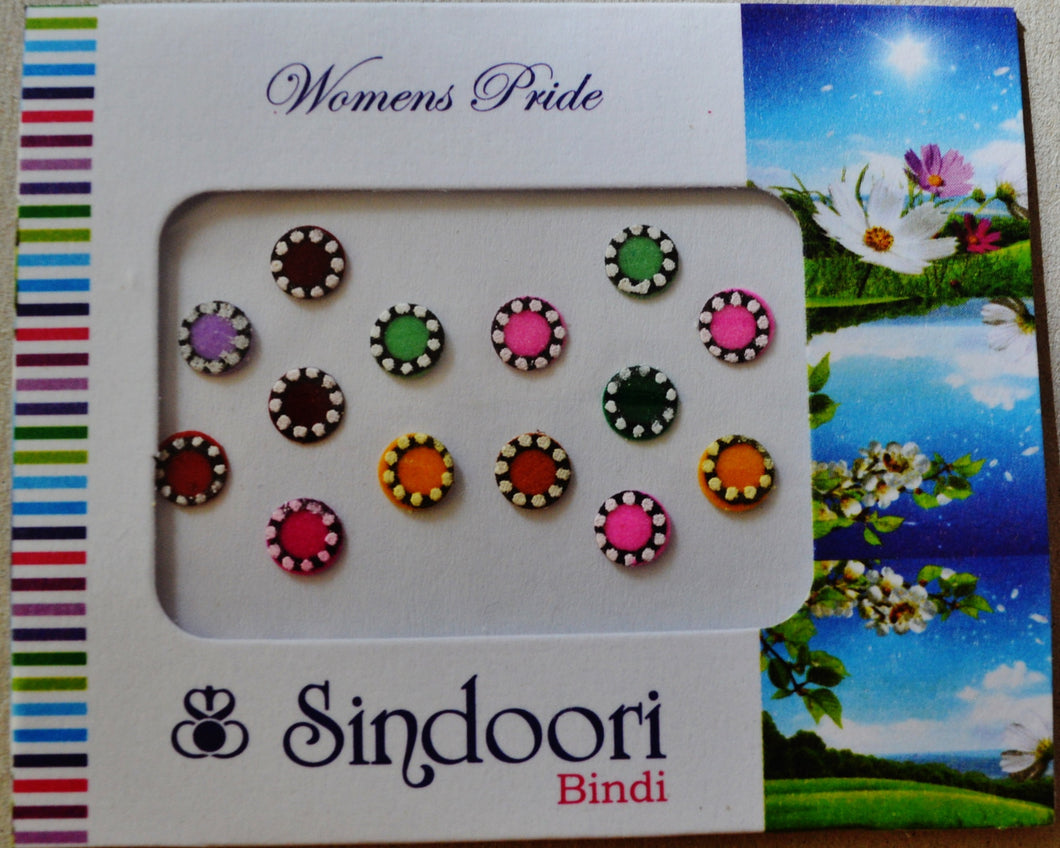 A Packet Of Individual Bindis