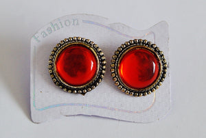 Gorgeous Red Earrings