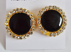 Gorgeous Black Earrings
