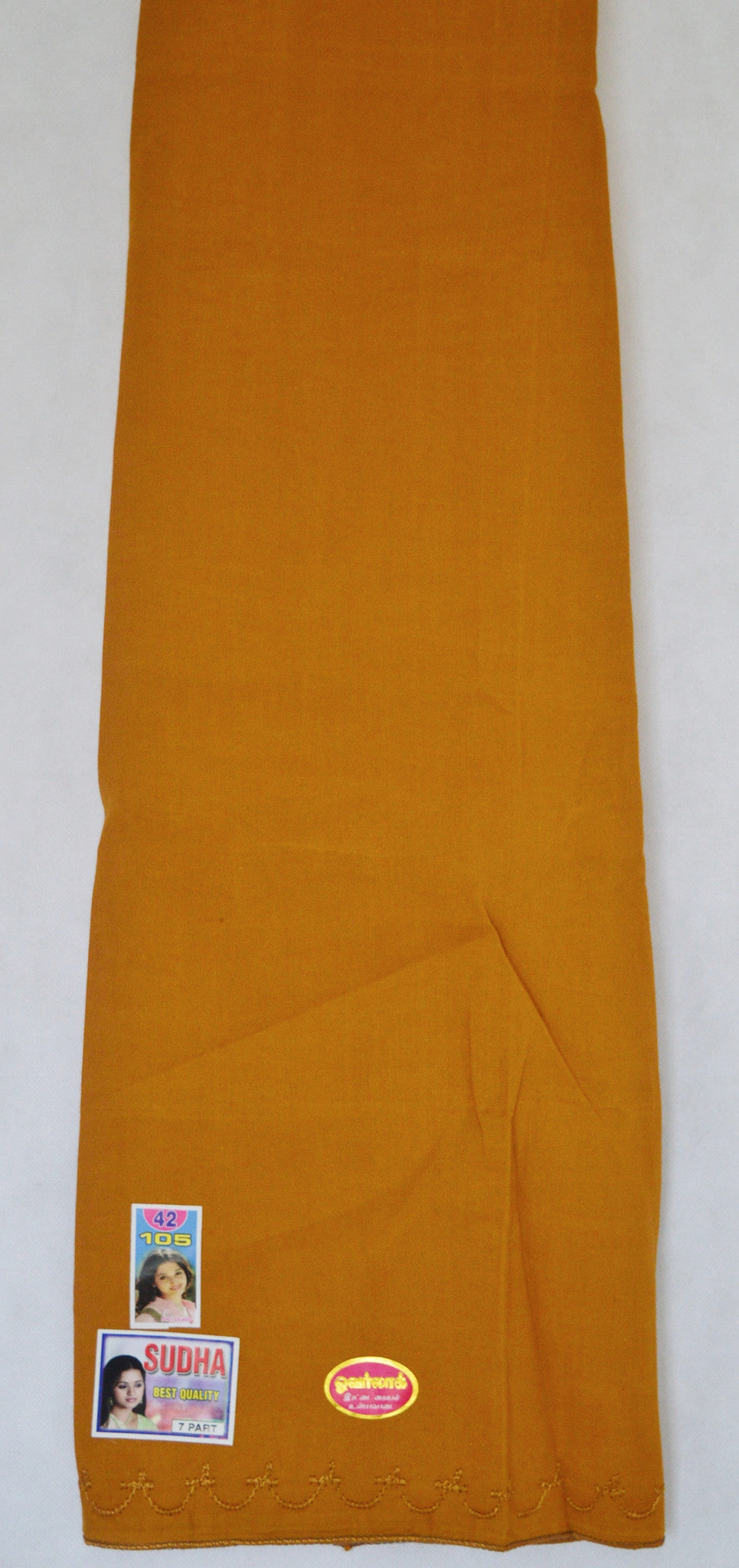 Mustard Colour Cotton Petticoat / Skirt