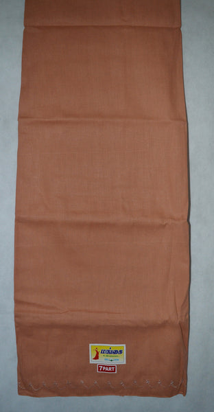 Tangerine Colour Cotton Petticoat / Skirt