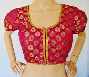 Bollywood Brocade Readymade Blouse top