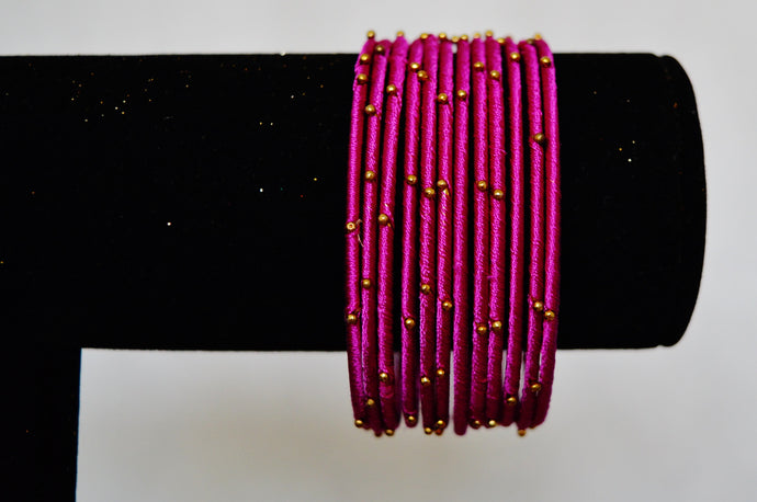 Set Of 12 Hand Made Bangles