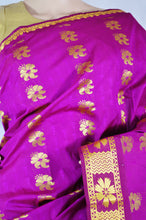 Purple Colour Kanchipuram Silk Saree