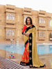 Sand Colour Georgette Saree With Dupain Blouse