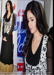 Exclusive Bollywood Stylish Katrina Kaif Semi-stitch Suit