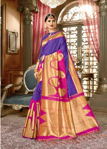 Lightweight Kanchipuram Silk Saree