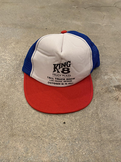 1986 King 8 Truck Show Snap Back - BurnoutRemixed