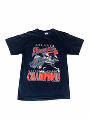 Vintage 1992 Atlanta Braves World Series Tee.