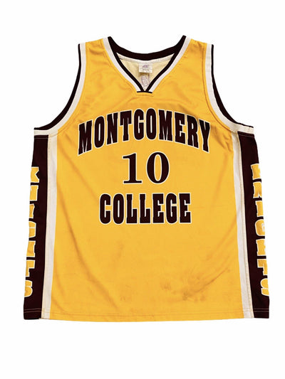 Montgomery College Vintage Basketball Jersey - BurnoutRemixed