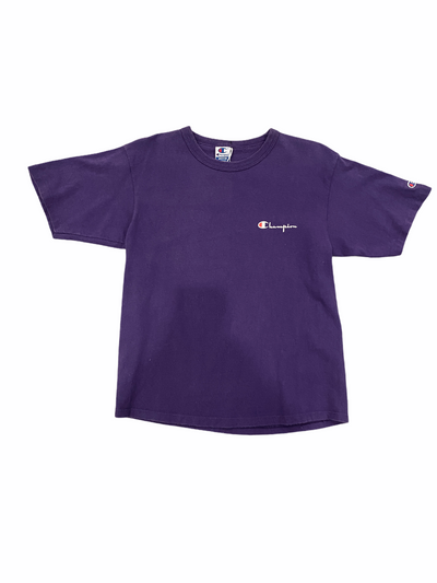 Purple Champion Spell Out Vintage Tee - BurnoutRemixed
