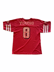 Vintage #8 49ERS Tee - BurnoutRemixed