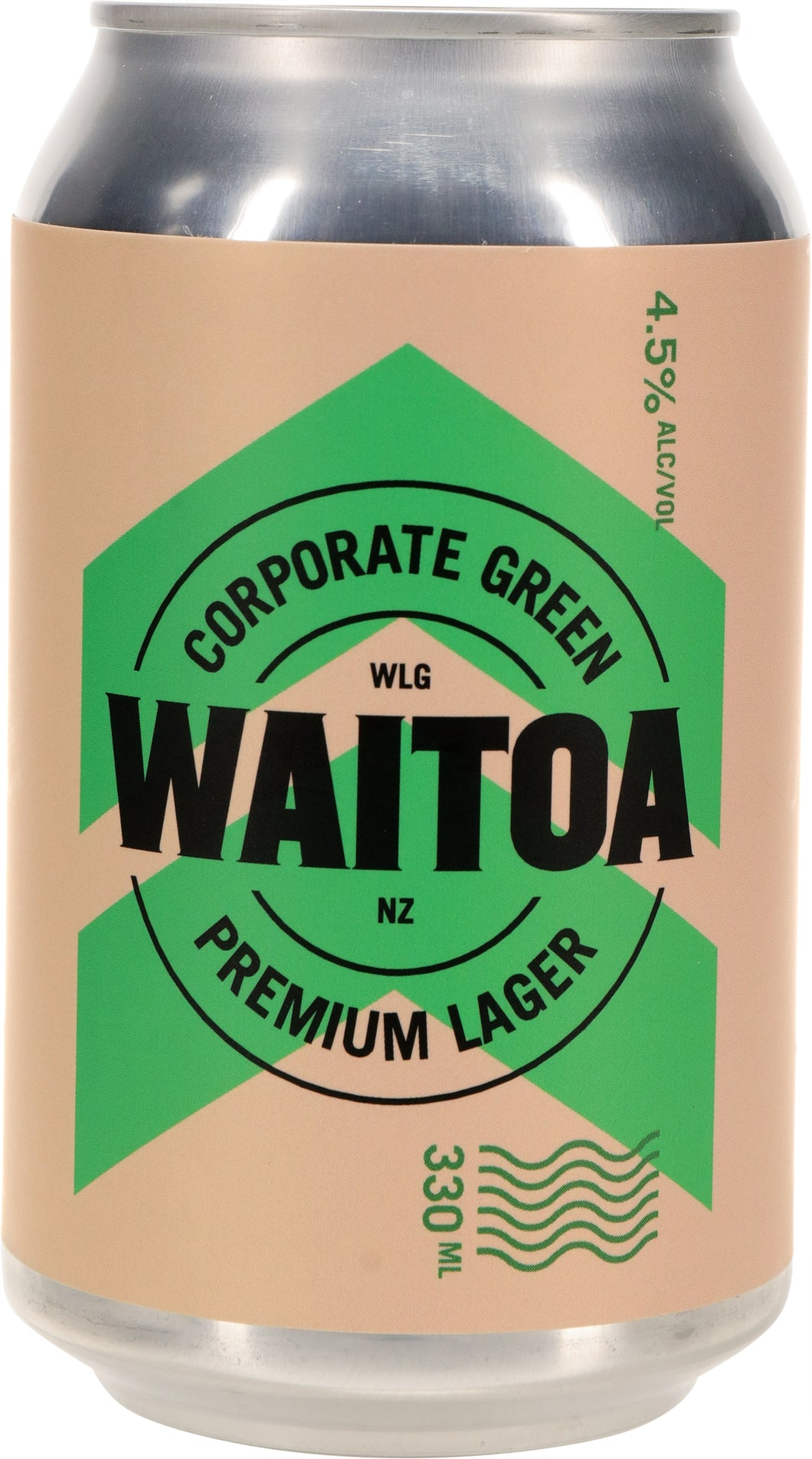 CORPORATE GREEN LAGER - 24 PACK