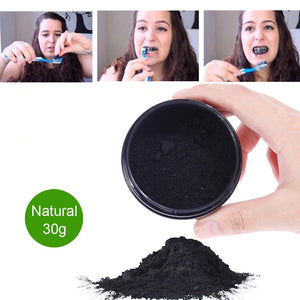 Shine™ Activated Charcoal Powder + 2 Brushes