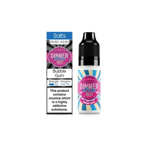 E-liquide Bubble Gum Sel de Nicotine Dinner Lady (5156465639561) (5402385318045)
