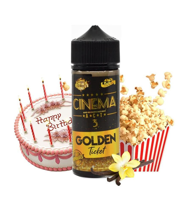 E-liquide Cinema Reserve Act 3 100ml Clouds of Icarus (4408415158409) (5400543002781)