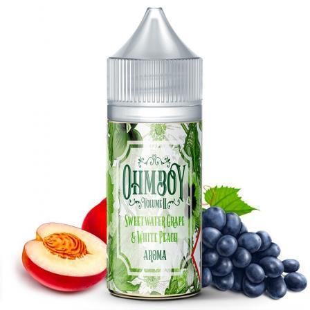 E-liquide Sweet Water Grape & White Peach Sel de Nicotine Ohmboy (5156468555913) (5402387841181)