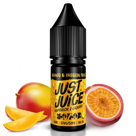 Eliquide Mango & Passion Fruit 10ML Just Juice (5849452839069)