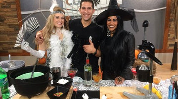 Learning Some Easy Spooky Cocktails For Halloween!