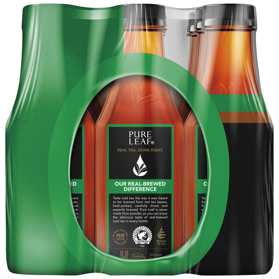 Pure Leaf Unsweetened Tea 15ct 16.9 fl. oz Bottles