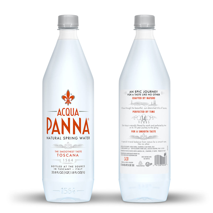 Acqua Panna Italian Natural Spring Water 12ct 33.8 fl. oz Bottles