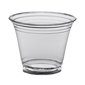 9oz  Clear Plastic Cup 50ct Sleeve