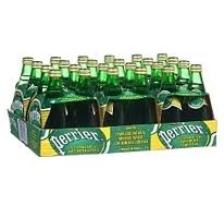 Perrier Sparkling Mineral Water 24ct 11 fl. oz Glass Bottles