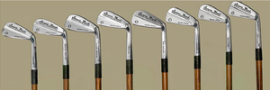 Hickory Shaft Irons