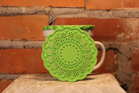Green Silicone Coasters