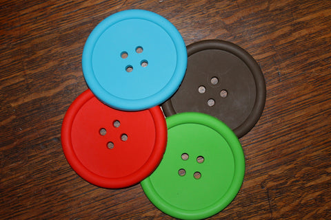 Button Silicone coasters