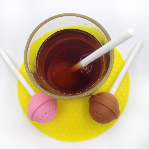 Pink Lollipop Tea Infuser